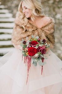Carriage House Romeo + Juliet Inspired Romantic Winter Wedding
