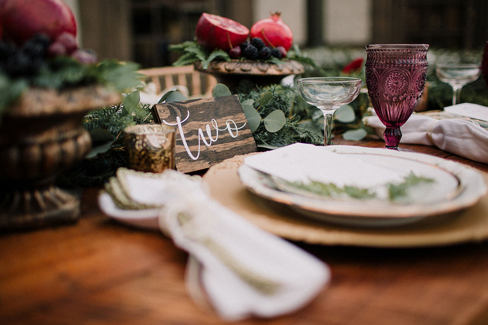 Carriage House Romeo + Juliet Inspired Romantic Winter Wedding | Photograph by Kuirsta + Seth LLC