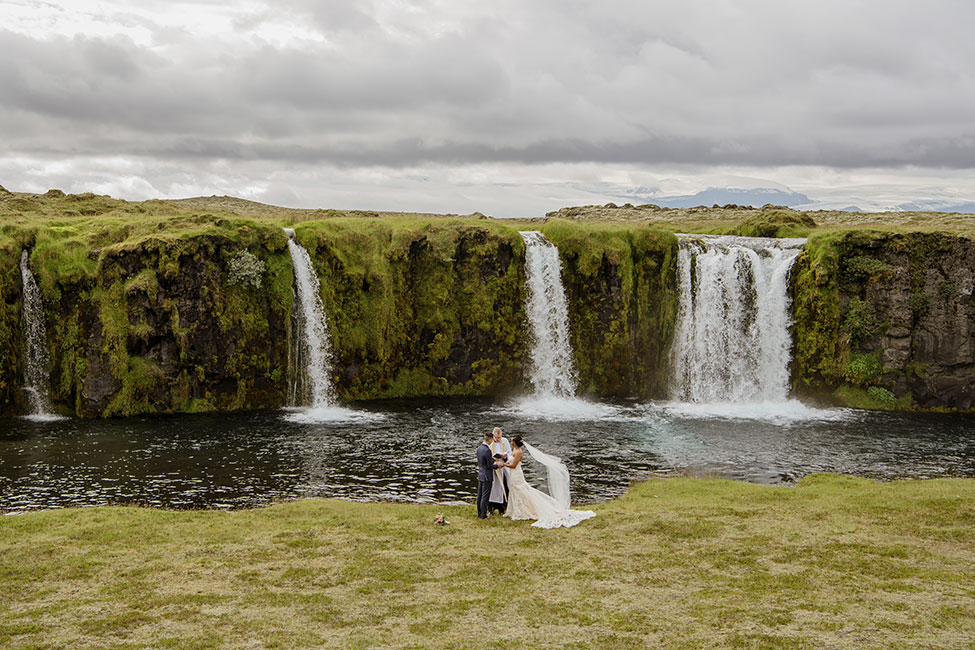 Wanderlust Locales Play Host To Uniquely Cool Iceland Elopement | Photograph by Your Adventure Wedding  See the full story at https://storyboardwedding.com/wanderlust-iceland-elopement/