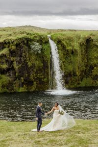 Wanderlust Locales Play Host To Uniquely Cool Iceland Elopement | Photograph by Your Adventure Wedding  See the full story at http://storyboardwedding.com/wanderlust-iceland-elopement/