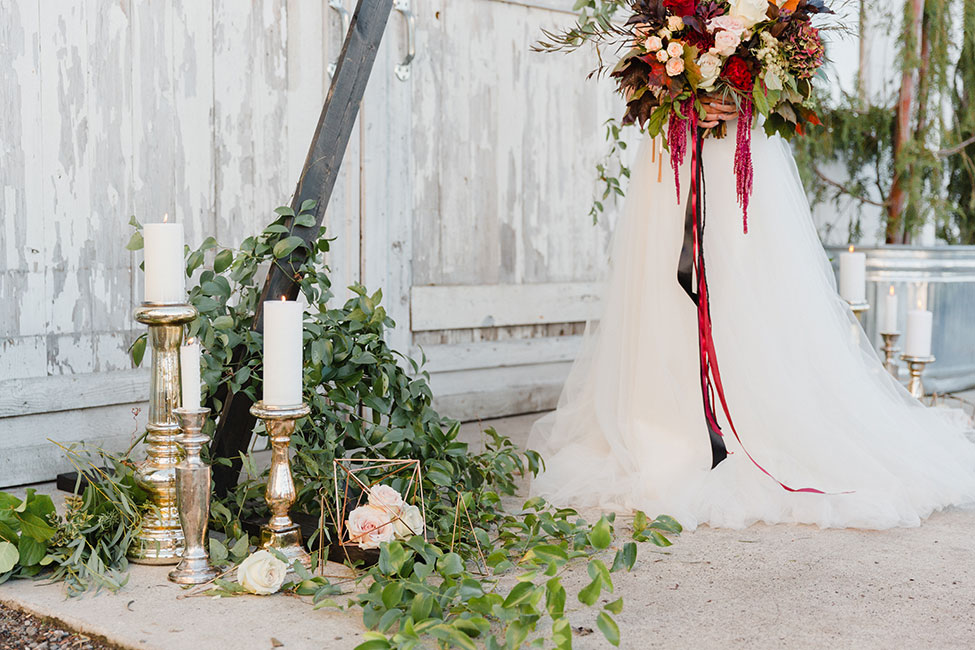 Dairyland Bohemian Wedding With Dreamy Whimsy Detailing | Photograph by Courtney Bowlden Photography  See the full story at https://storyboardwedding.com/dairyland-bohemian-wedding-dreamy-whimsy-detailing/