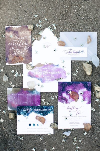 Modern Celestial Wedding Inspired By Davids Bridal Jewel Tone Bridesmaid Dresses | Photograph by Jacqueline Patton Photography