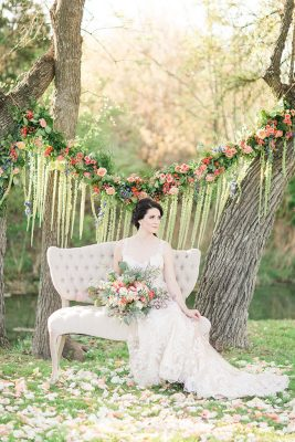 Whimsical Spring Infused Texas Wedding At The Creek Haus | Photograph by Angela King Photo  See the full story at  http://storyboardwedding.com/whimsical-spring-texas-wedding-creek-haus/