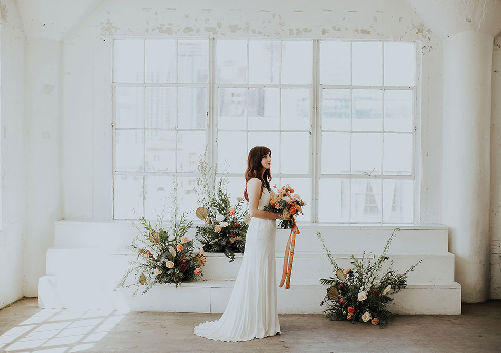 Downtown Los Angeles Warehouse Garden Loft Wedding | Photograph by Meaghan Brianne Photo