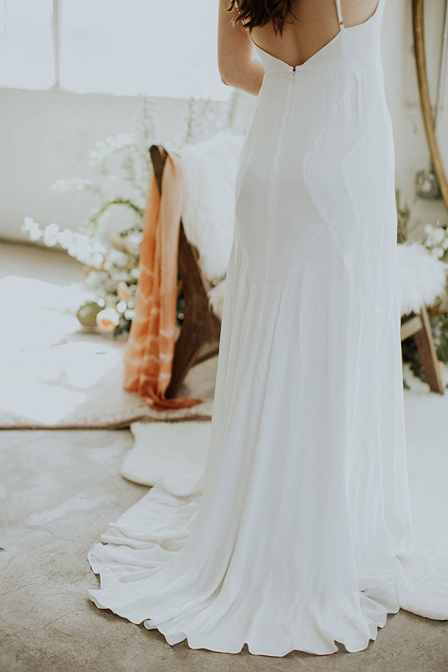 Downtown Los Angeles Warehouse Garden Loft Wedding   Photograph by Meaghan Brianne Photo