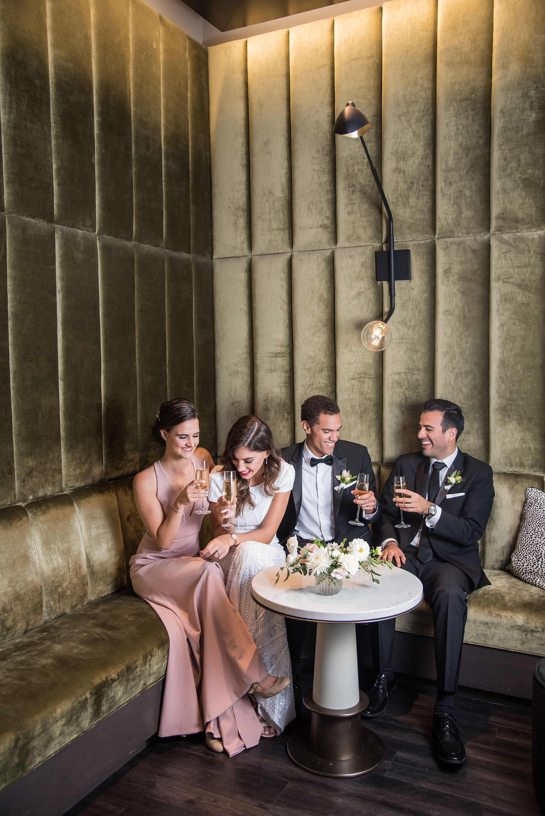 Timeless Gift Giving In The Perfect Intimate Rooftop Wedding Setting