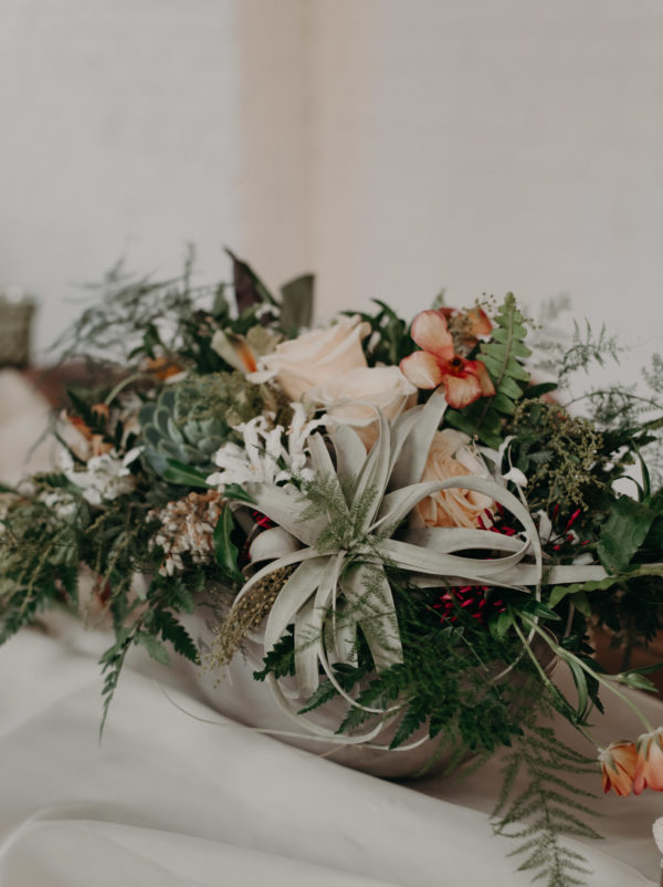 Centerpieces with Air Plants