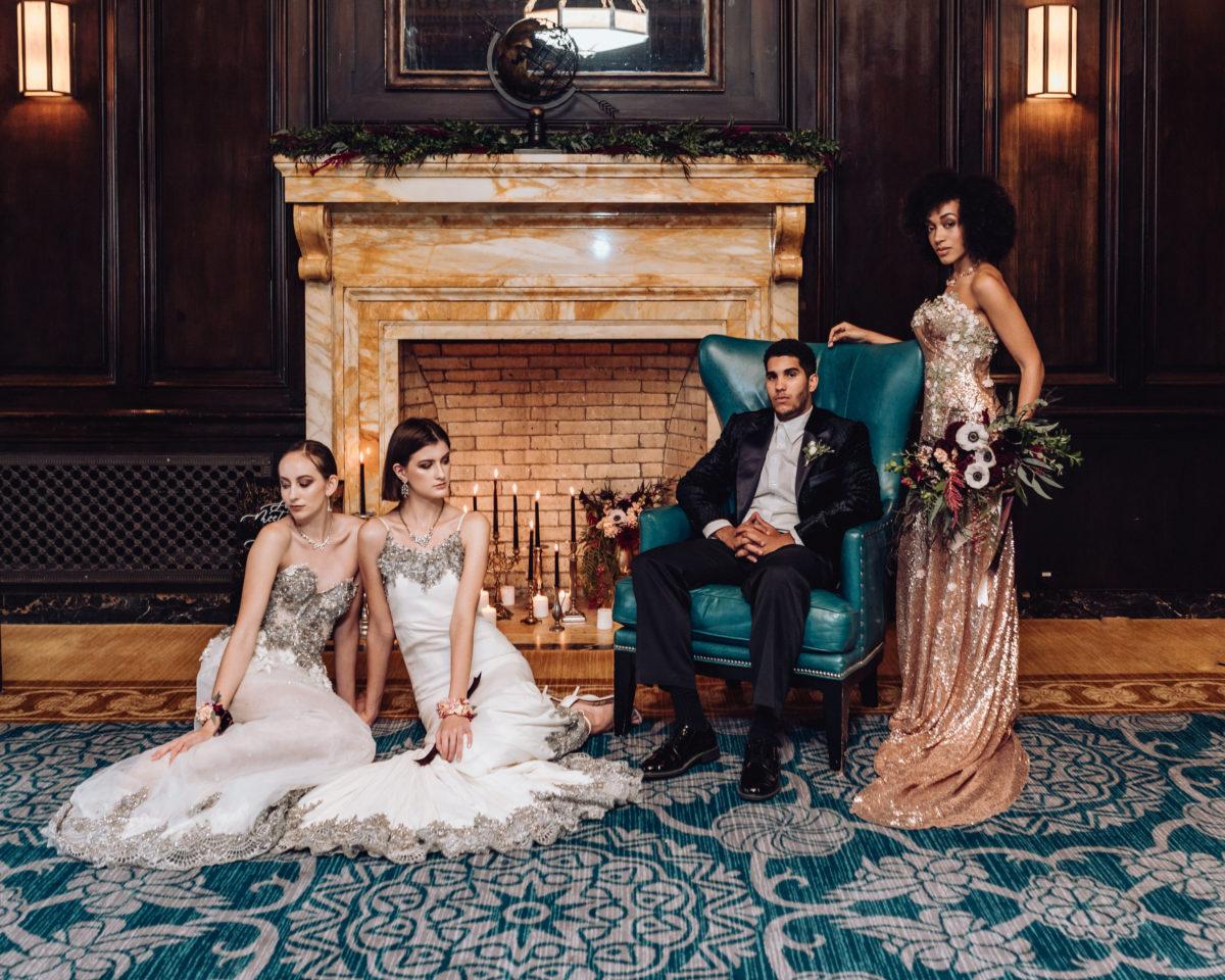 Gilded Romance Wedding Inspiration Rachel Salisbury Photography12
