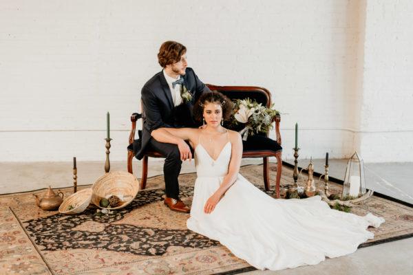 Minimalist Wedding Inspiration with Antique Elements Mariana Ziegler11