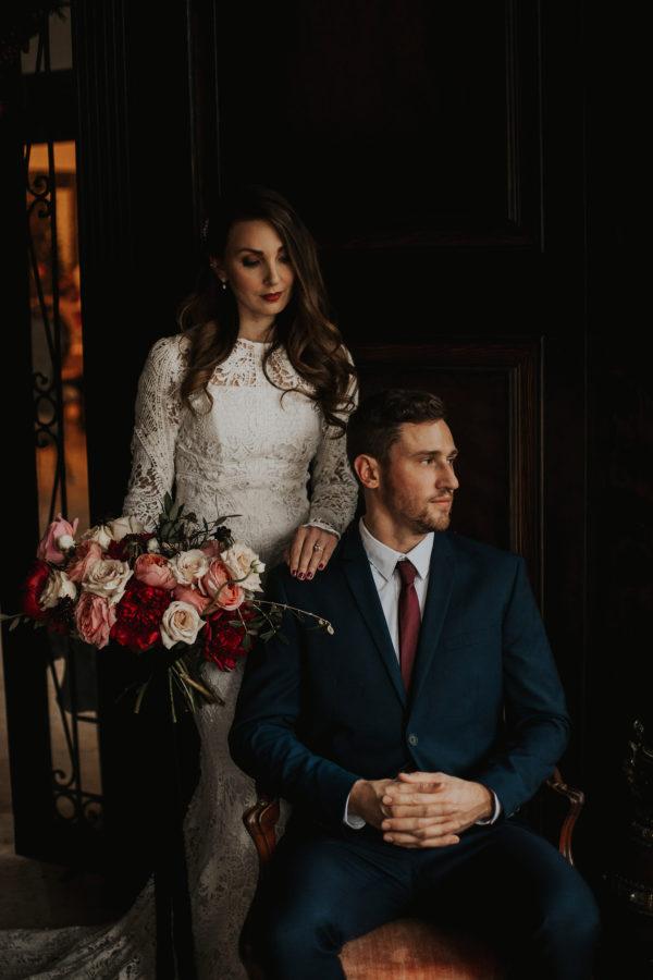 Romantic Wedding Inspiration at Mystical Washington Manor Sarah Thompson21