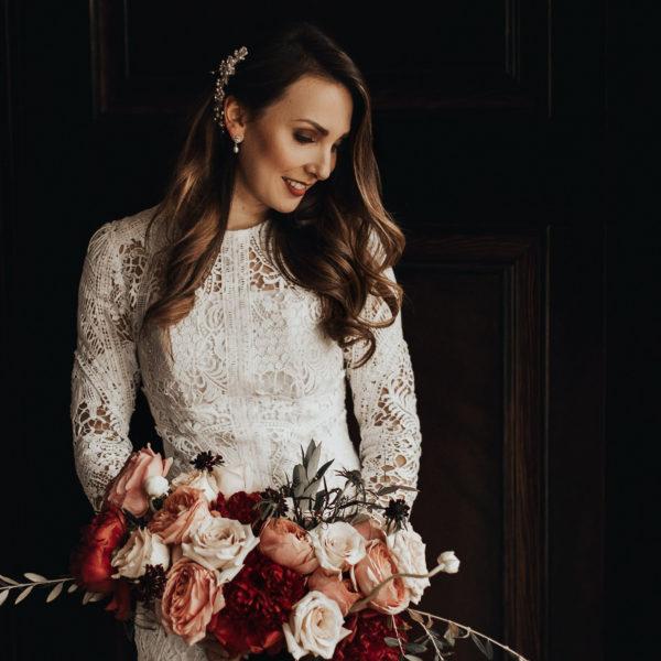 Romantic Wedding Inspiration at Mystical Washington Manor Sarah Thompson24