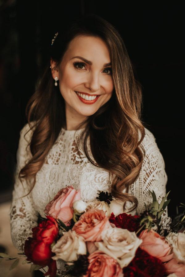 Romantic Wedding Inspiration at Mystical Washington Manor Sarah Thompson25