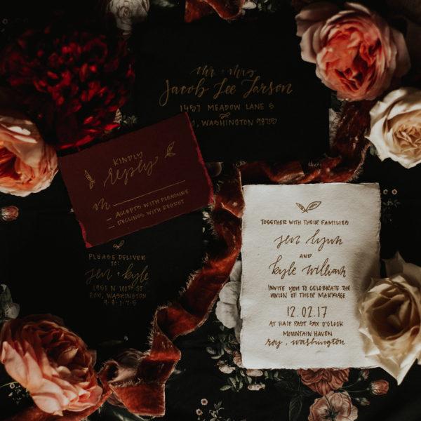 Romantic Wedding Inspiration at Mystical Washington Manor Sarah Thompson32