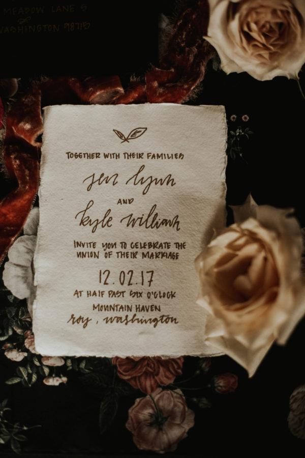 Romantic Wedding Inspiration at Mystical Washington Manor Sarah Thompson33