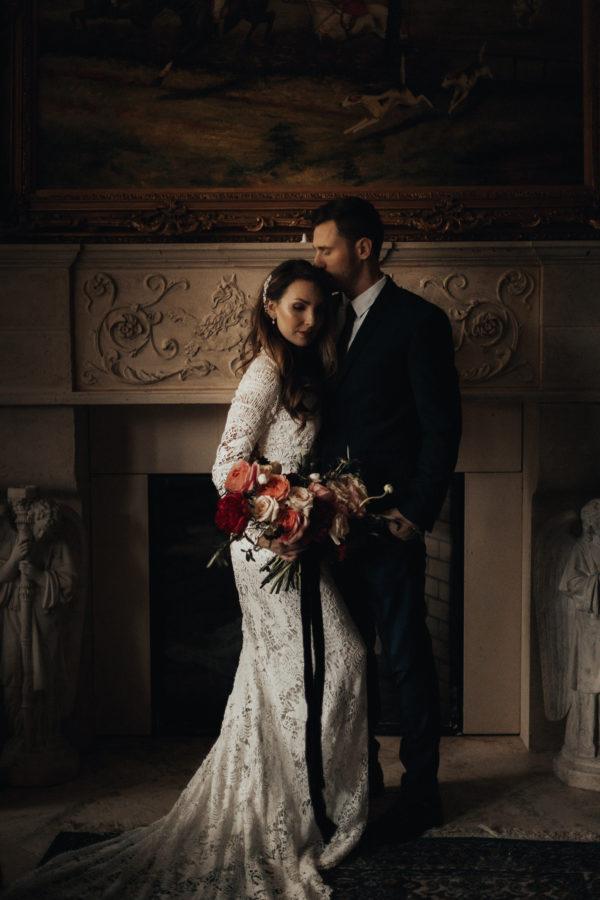 Romantic Wedding Inspiration at Mystical Washington Manor Sarah Thompson36