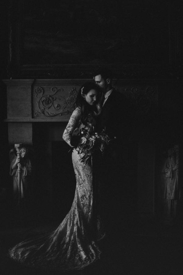 Romantic Wedding Inspiration at Mystical Washington Manor Sarah Thompson37