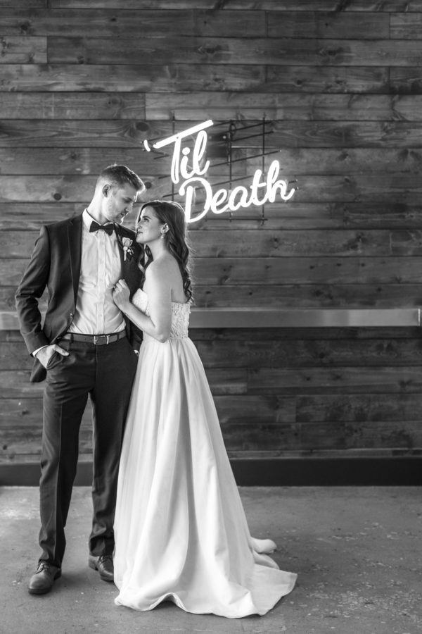Sexy and Sweet Colorful Wedding Inspiration Heather Cook Elliott11