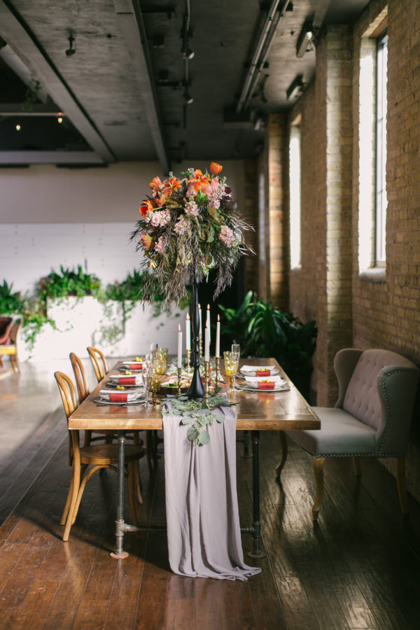 Sexy and Sweet Colorful Wedding Inspiration Heather Cook Elliott13