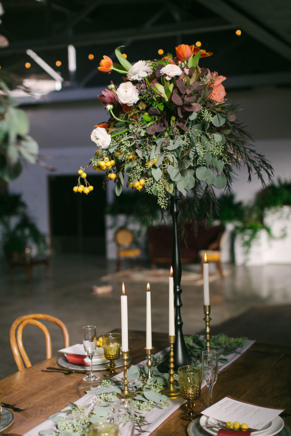Sexy and Sweet Colorful Wedding Inspiration Heather Cook Elliott15