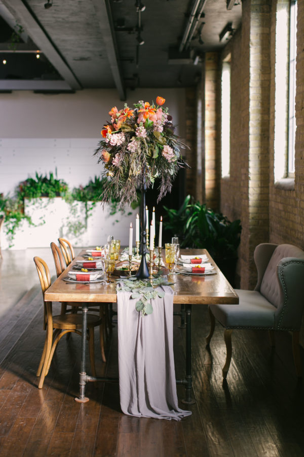 Sexy and Sweet Colorful Wedding Inspiration Heather Cook Elliott25