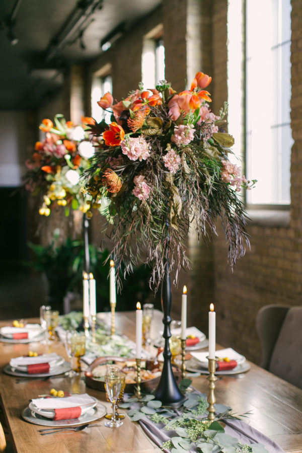Sexy and Sweet Colorful Wedding Inspiration Heather Cook Elliott26