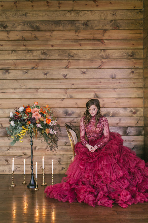 Sexy and Sweet Colorful Wedding Inspiration Heather Cook Elliott29