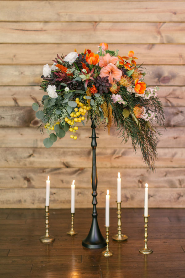 Sexy and Sweet Colorful Wedding Inspiration Heather Cook Elliott30