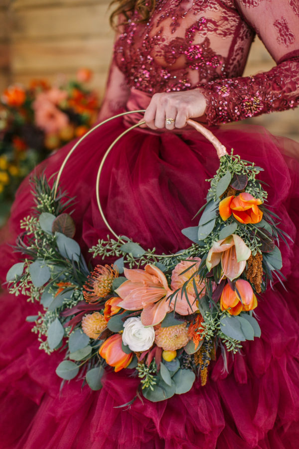 Sexy and Sweet Colorful Wedding Inspiration Heather Cook Elliott31