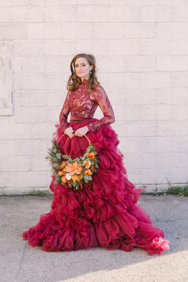 Sexy and Sweet Colorful Wedding Inspiration Heather Cook Elliott34