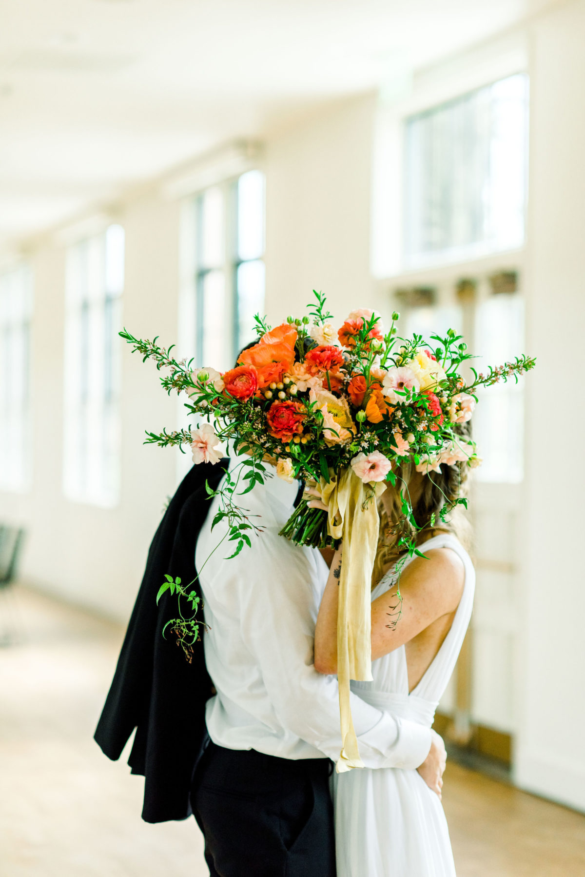 Spring Industrial Wedding Inspiration with Bold Colors Jessie Leigh Photography30