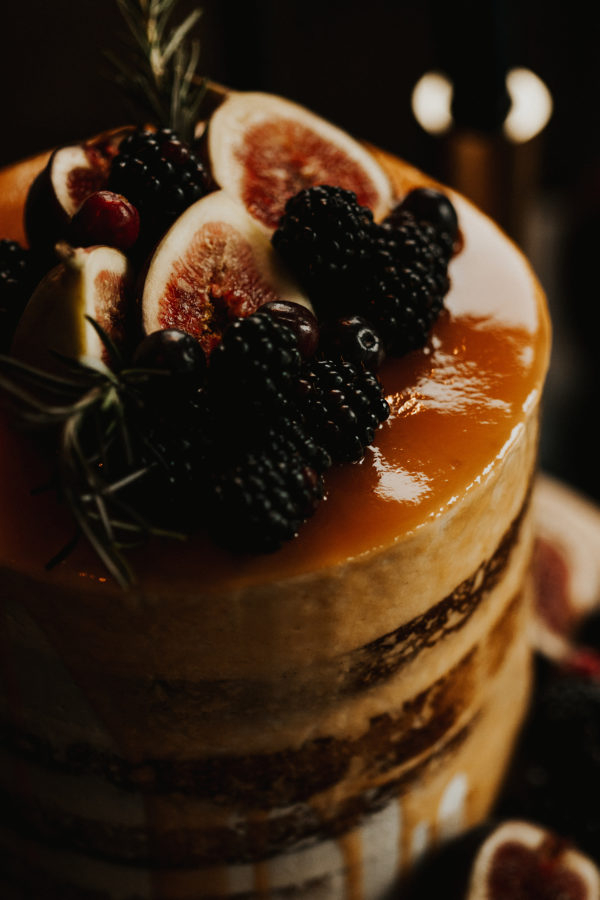 Wedding Cakes with Fruit