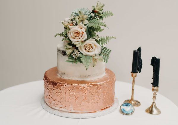 Wedding Cakes with Succulents