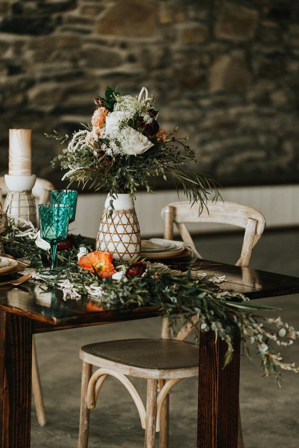 Boho Wedding Tablescapes