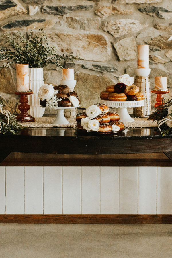 Dessert Table Ideas with Donuts
