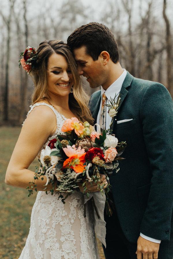 Neutral Boho Wedding Inspiration Plus Rose and Teal Colors Barbarah Pertulla10
