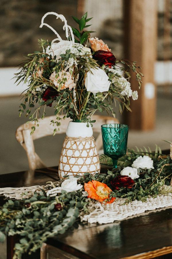 Neutral Boho Wedding Inspiration Plus Rose and Teal Colors Barbarah Pertulla14