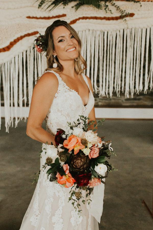 Neutral Boho Wedding Inspiration Plus Rose and Teal Colors Barbarah Pertulla31