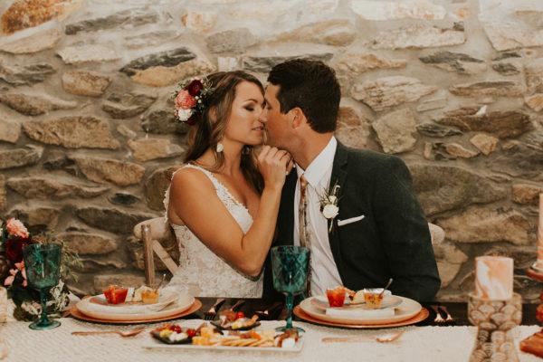 Neutral Boho Wedding Inspiration Plus Rose and Teal Colors Barbarah Pertulla32