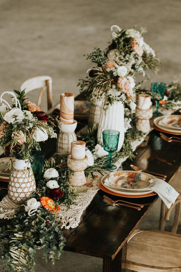 White Boho Wedding Ideas