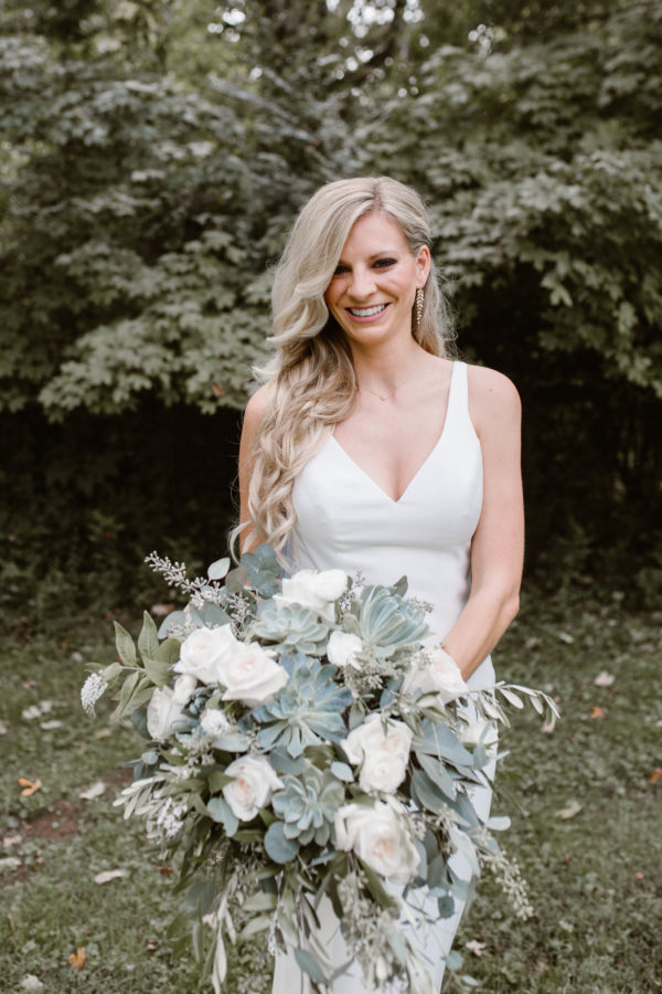 Organic Knoxville Wedding with A Neutral Palette Erin Morrison04