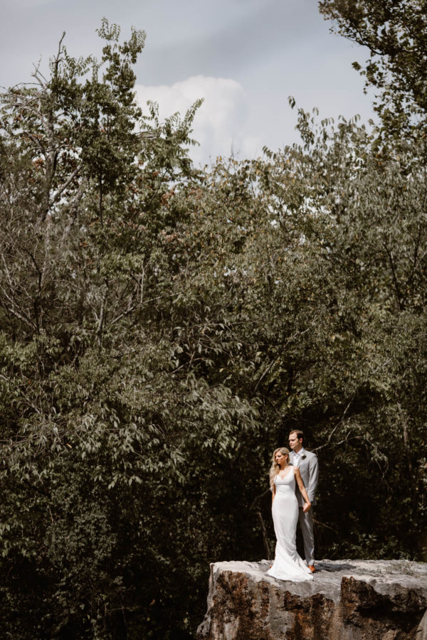 Organic Knoxville Wedding with A Neutral Palette Erin Morrison19