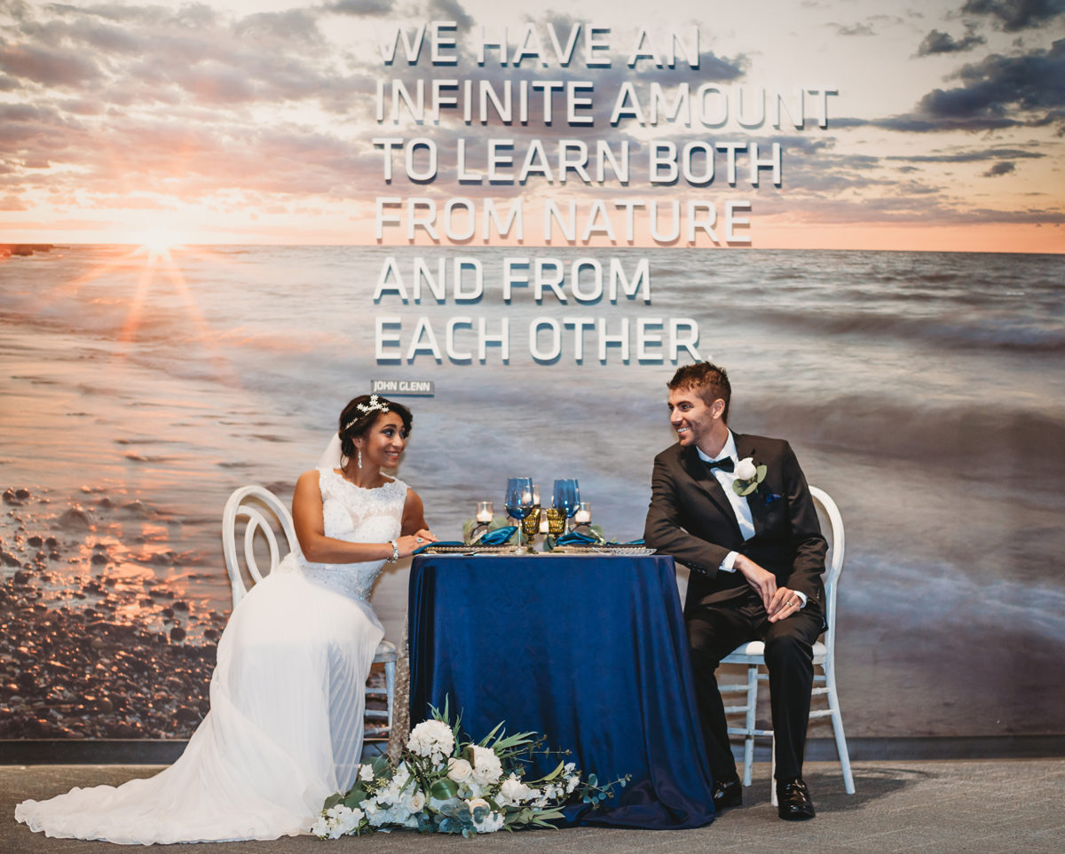 Science Center Styled Shoot