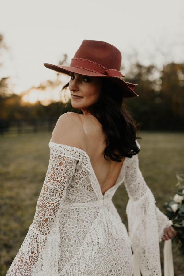 Bohemian Ranchstead Bridal Inspiration Taryn Lynn Photography06