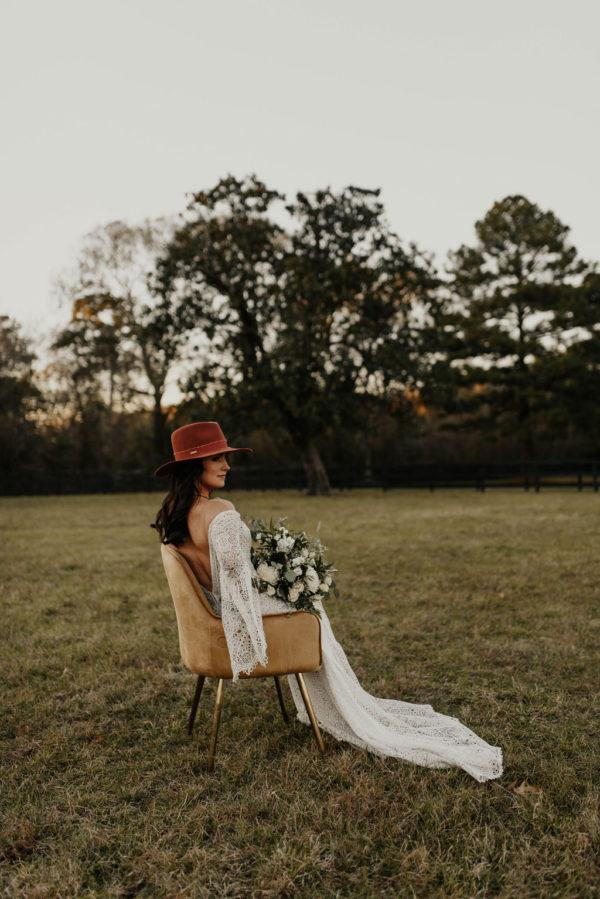 Bohemian Ranchstead Bridal Inspiration Taryn Lynn Photography10