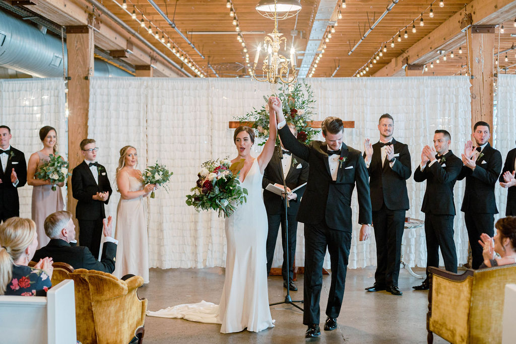 Industrial and Traditional Grand Rapids Wedding Carrie House Photography19