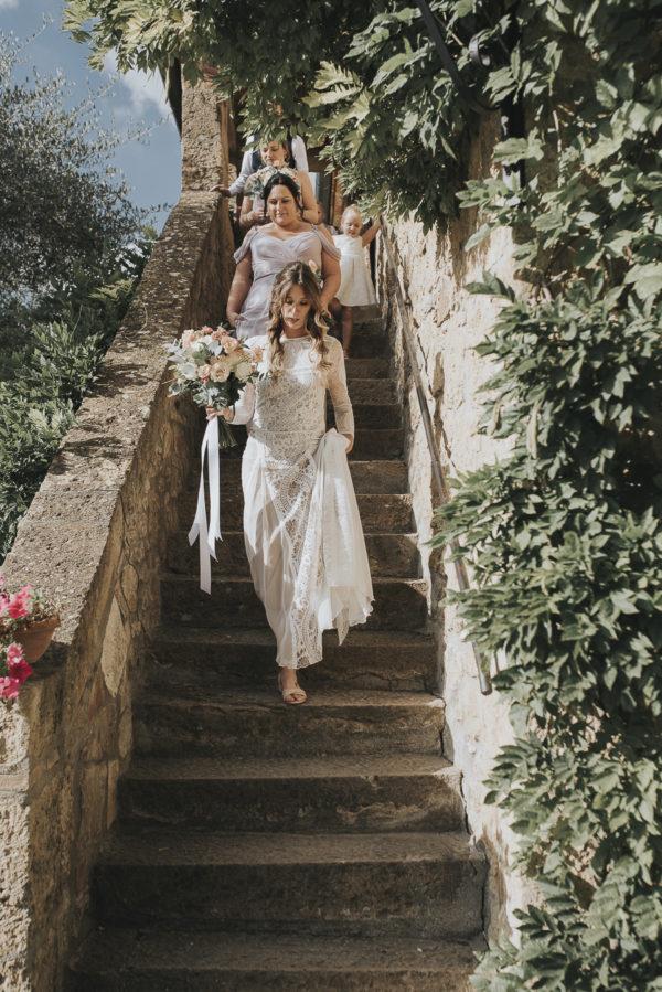 Relaxed and Intimate Tuscan Wedding Daniela Nizzoli09
