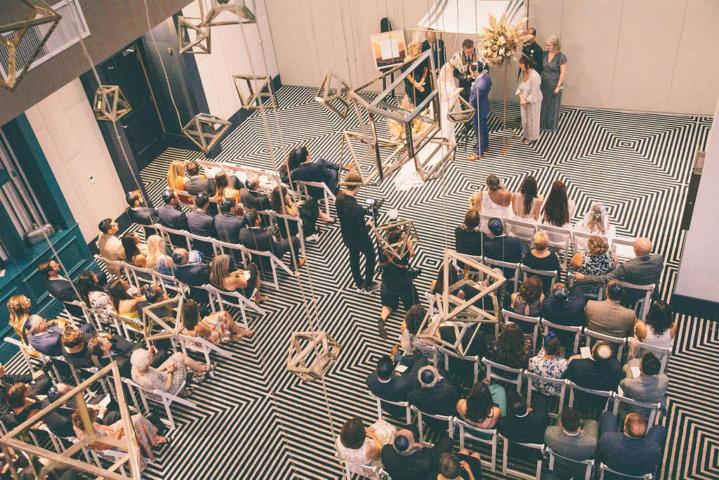 Cool and Chic Downtown Wedding in Los Angeles Liz Bretz28