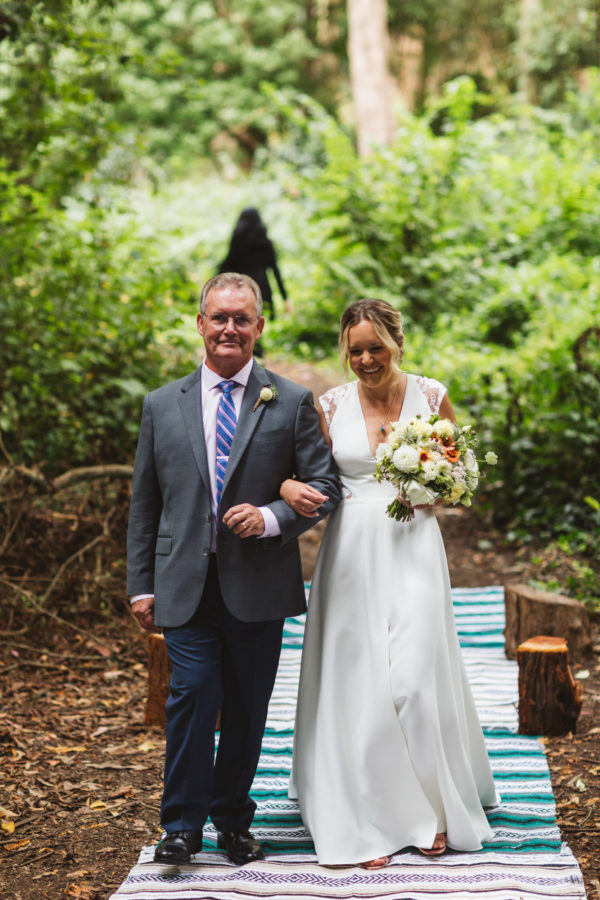Intimate Stern Grove Wedding in San Francisco Zoe Larkin Photography09