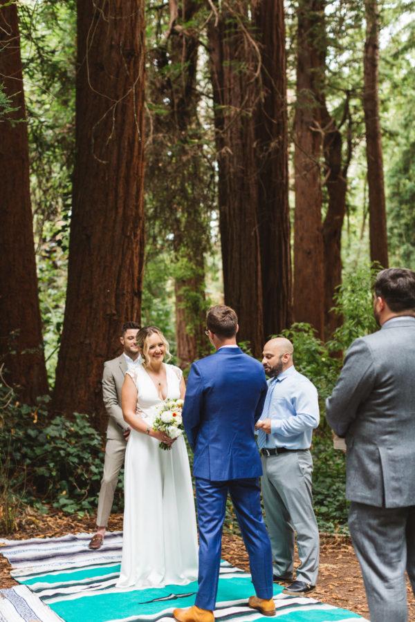 Intimate Stern Grove Wedding in San Francisco Zoe Larkin Photography11