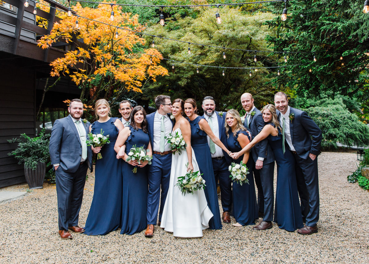 Rainy Seattle Fall Winery Wedding Alexandra Knight Photography17